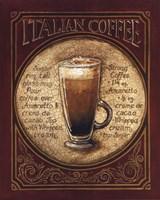 """Italian Coffee by Gregory Gorham - 16"""" x 20"""""""