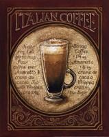 """Italian Coffee - Mini by Gregory Gorham - 11"""" x 14"""""""
