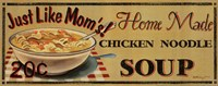 Chicken Noodle Soup Fine Art Print