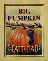 Big Pumpkin Fine Art Print