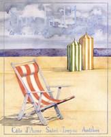 """Sur La Plage - Mini by Paul Brent - 8"""" x 10"""""""
