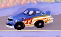 Racecar Framed Print