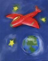 Space Plane Fine Art Print