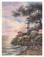 Beacon Light Bay Fine Art Print