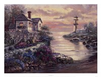Lighthouse Point Fine Art Print