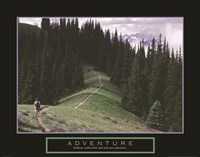 Adventure - Hiker Fine Art Print