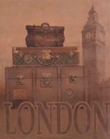 """Travel - London by T.C. Chiu - 8"""" x 10"""""""