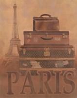 """Travel - Paris by T.C. Chiu - 8"""" x 10"""""""