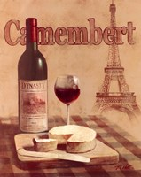 Camembert - Tour Eiffel Fine Art Print