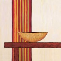 "Stripes III by Mali Nave - 12"" x 12"""