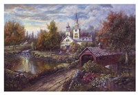 Maple Creek Fine Art Print