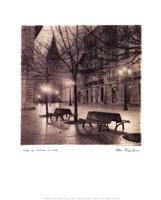 Plaza de Porlier, Oviedo Fine Art Print