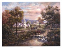 Vermonts Colonial Times Fine Art Print