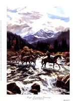 "High Mountain Crossing by Nenad Mirkovich - 6"" x 8"", FulcrumGallery.com brand"