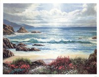 "17"" x 13"" Seascape Paintings"