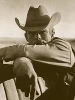 James Dean on Location for Giant, Texas Fine Art Print