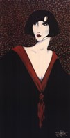 """Red Collar by Diana Martin - 20"""" x 40"""""""