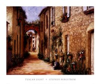 "Tuscan Light by Stephen Bergstrom - 32"" x 27"""