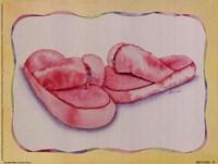 Fat Flip Flops Fine Art Print