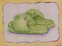 Fuzzy Lime Fine Art Print