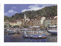 """Portofino by Guido Borelli - 8"""" x 6"""", FulcrumGallery.com brand"""