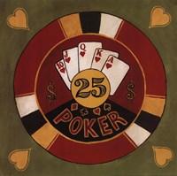 Poker - $25 Fine Art Print