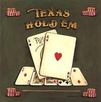 Texas Hold Em Framed Print