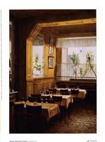 Interieur Restaurant Polidor Fine Art Print