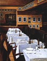 Restaurant La Gallerie Fine Art Print