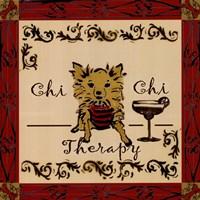 Chi Chi Therapy! Fine Art Print