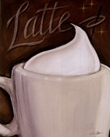 """Latte by Darrin Hoover - 8"""" x 10"""""""