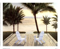 Palm Beach Retreat Fine Art Print