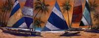 Grand Bay Sails Framed Print