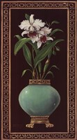 "Ginger Jar With Orchids II by Janet Kruskamp - 15"" x 27"" - $21.99"