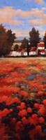 Tejados Rojos I Fine Art Print