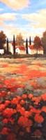Tejados Rojos II Framed Print
