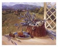Lavender Basket Fine Art Print