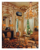 """Gold Sitting Room by Mali Nave - 24"""" x 30"""""""