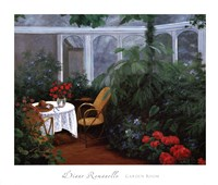 Garden Room Fine Art Print