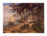"""Key West Hideaway by Enrique Bolo - 8"""" x 6"""""""