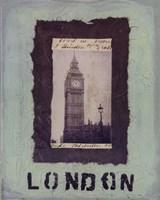 """London by Jan Weiss - 8"""" x 10"""""""
