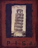 """Pisa by Jan Weiss - 8"""" x 10"""""""