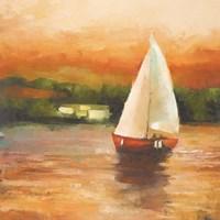 Majorcan Sail II Fine Art Print