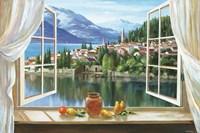 Lago Di Fiori Fine Art Print