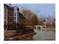 Quai d' Anjou Fine Art Print