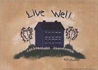 Live Well Fine Art Print