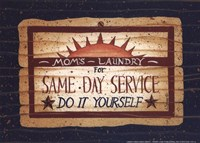 Same Day Service Fine Art Print
