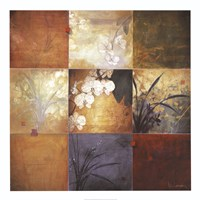 "Orchid Nine Patch by Don Li-Leger - 40"" x 40"" - $46.49"