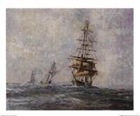 """Seascape Image II by Dwayne Warwick - 11"""" x 9"""""""