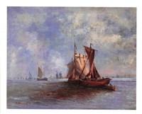 """Seascape Image III by Dwayne Warwick - 11"""" x 9"""""""